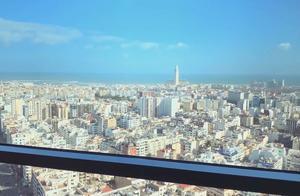 """""""光明之塔""""是卡萨布兰卡地标性建筑 能鸟瞰""""大西洋新娘""""全貌"""