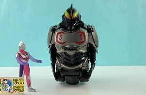 迪迦奥特曼发现一个贝利亚机器人,迪迦奥特曼用奥特曼卡片变身