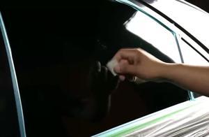 玻璃刮痕是怎么处理的,老司机自己刮了车玻璃来教学