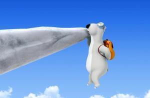 倒霉熊:每只北极熊都有一个梦想,在雪山之中进行攀登