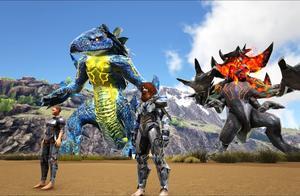 方舟生存进化-终极之战 巨型迅龙VS巨型雷龙 谁会赢