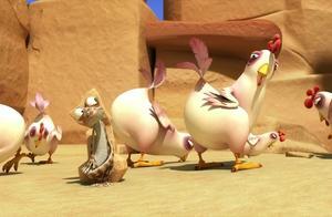 搞笑动画:奥斯卡的绿洲,偷蛋