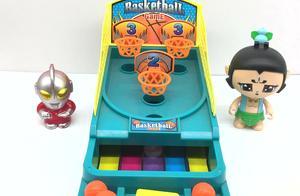 罗布奥特曼和葫芦兄弟打篮球