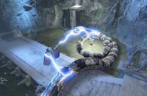 玉皇大帝的黑暗面有多厉害?轻松一指,百米巨蛇瞬间获得人身!
