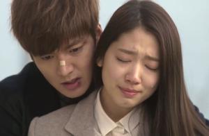 继承者们:李敏镐鼓足勇气拥抱了朴信惠,我还是没办法放开你
