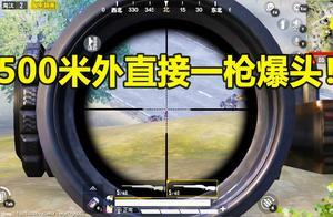 和平精英:面对敌人非法组队,小薇直接500米外一枪爆头教他做人
