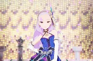 菲梦少女:雪艳换装紫玫洛奇跳舞,导师说她是万中无一的天才