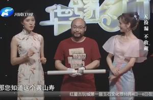 华豫之门:黄山寿梅花图真品,专家估价12万元