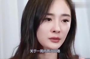 被曝返港要争夺女儿抚养权,杨幂终于忍不住无奈做出了这样的回应
