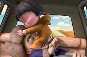 熊出没:光头强家来陌生人,给强哥折磨的不行啊,脸都花了
