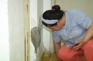 门坏了、墙泡了,租了五年的房子迟迟没人维修,廉租房维修没人管