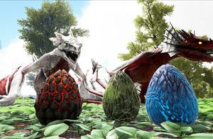 妖月 方舟生存进化 盖亚恐惧20 前往飞龙谷!偷到一个神秘恐龙蛋