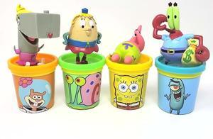 亲子早教益智玩具,玩培乐多彩泥学习颜色海绵宝宝派大星角色玩具