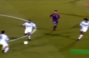 罗纳尔多炸裂进球,梅西C罗应该庆幸没和大罗一个时代