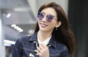 林志玲宣布结婚后首次现身,满面春风,一脸幸福感