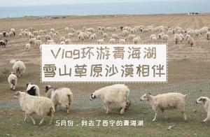 小女子环游青海湖,雪山、湖泊、草原和沙漠一路相随vlog