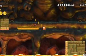 超级马里奥:马里奥打败超级大蘑菇