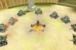 玫瑰王子虐待幼崽,猪猪侠帮狮鹫救回宝宝,遭坦克部队攻击!