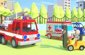 玩具总动员:小萌娃帮助车宝宝找车妈妈