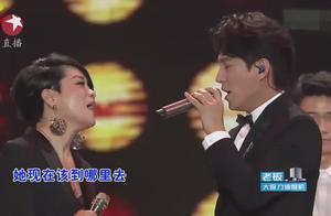 靳东,毛阿敏同台串烧80年代经典歌曲,靳东的声音好听到酥!
