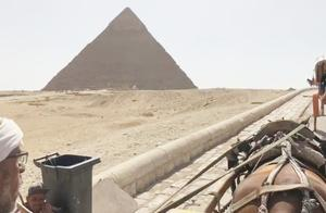 #全民热遗#壮观!触摸到世界奇迹埃及金字塔脚下,激动到不敢说话