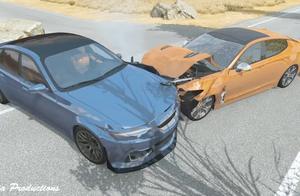 BeamNG:真实的车祸事故细节逼真还原,引以为戒!