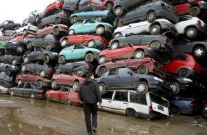 汽车处理厂里堆积如山的车辆,是如何进行拆解处理的?