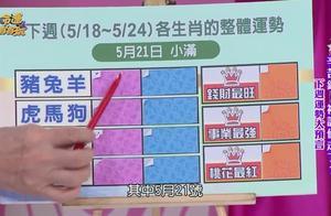 久久生肖-下周12生肖整体运势-5月18日至5月24日