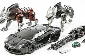 变形金刚4赏金猎人汽车恐龙机器人玩具