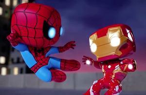 漫威动画短片:蜘蛛侠被洛基洗脑,对钢铁侠动手,好凶的蜘蛛侠