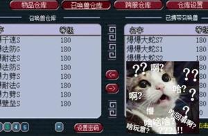 梦幻西游:爆总仓库宝宝一排排各种极品宝宝,隔壁老王都馋哭了