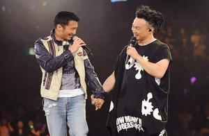 陈奕迅当谢霆锋的面,唱《因为爱所以爱》?网友:是因为爱吗?
