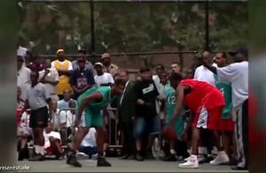 NBA巨星和街球高手对决?回顾8号科比征服街球圣地洛克公园!