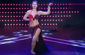 妈妈咪呀,美女表演优美肚皮舞,看看这线条真是太美了,超赞的哦