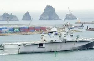中国被航母包围?继日印后又一邻国欲连造两艘,排水量2万吨