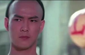 元彪经典动作片:太震撼了,茶馆喝茶遇见恶霸,用咏春拳一招制敌