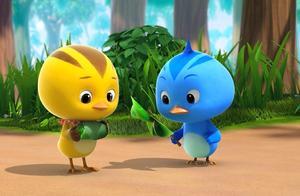萌鸡小队:小鸡们玩游戏,鸡妈妈藏宝物,小鸡们找到风车