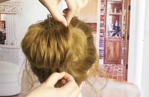 不要说好看的发型都很难了,随便扎个包,都可以变得这么好看