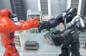 蜘蛛侠10超级英雄进入大蜘蛛侠机器人玩具
