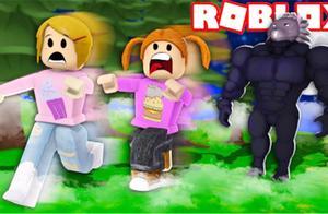 Roblox 大脚怪模拟器!奇幻森林惊魂遭遇可怕不明怪物攻击!