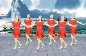 网络情歌广场舞《骗情骗爱》不知唱哭了多少傻女人,太好听了