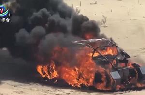 退赛了!2019环塔拉力赛开赛在即,这辆赛车自燃了......