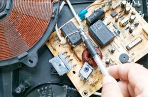 维修电磁炉要知道的元件讲解,初学者朋友来看看,有故障不求人
