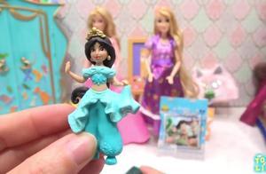 迪士尼公主奥罗拉卧室和长发公主艺术家Armoire的玩具