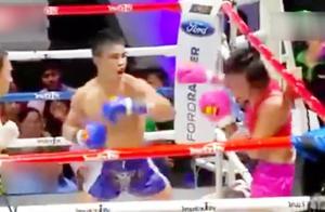 泰国人妖拳王决战男拳手!变性之后攻击力更强了?
