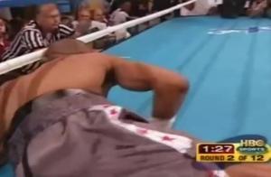 传奇拳王罗伊.琼斯被他一拳打出擂台,不败金身被破灭!