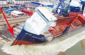 世界上超大型轮船,排水量高达50万吨!被称为海上巨兽