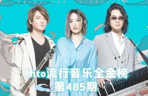 Hito流行音乐全金榜第485期,空降冠军!飞儿乐团青春回归