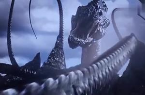 山顶突现地神秘巨兽,如北海巨妖般,震撼大地,真是太可怕了
