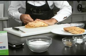 一万元的鹅肝怎么处理?法国顶级大厨现场演示,每道步骤都是钱